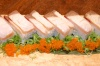 Torched Aging Yellowtail Pressed Sushi