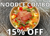 **15% Off** Mini Maguro (Yellowfin Tuna) Chirashi (Sushi Rice) with Any Noodle